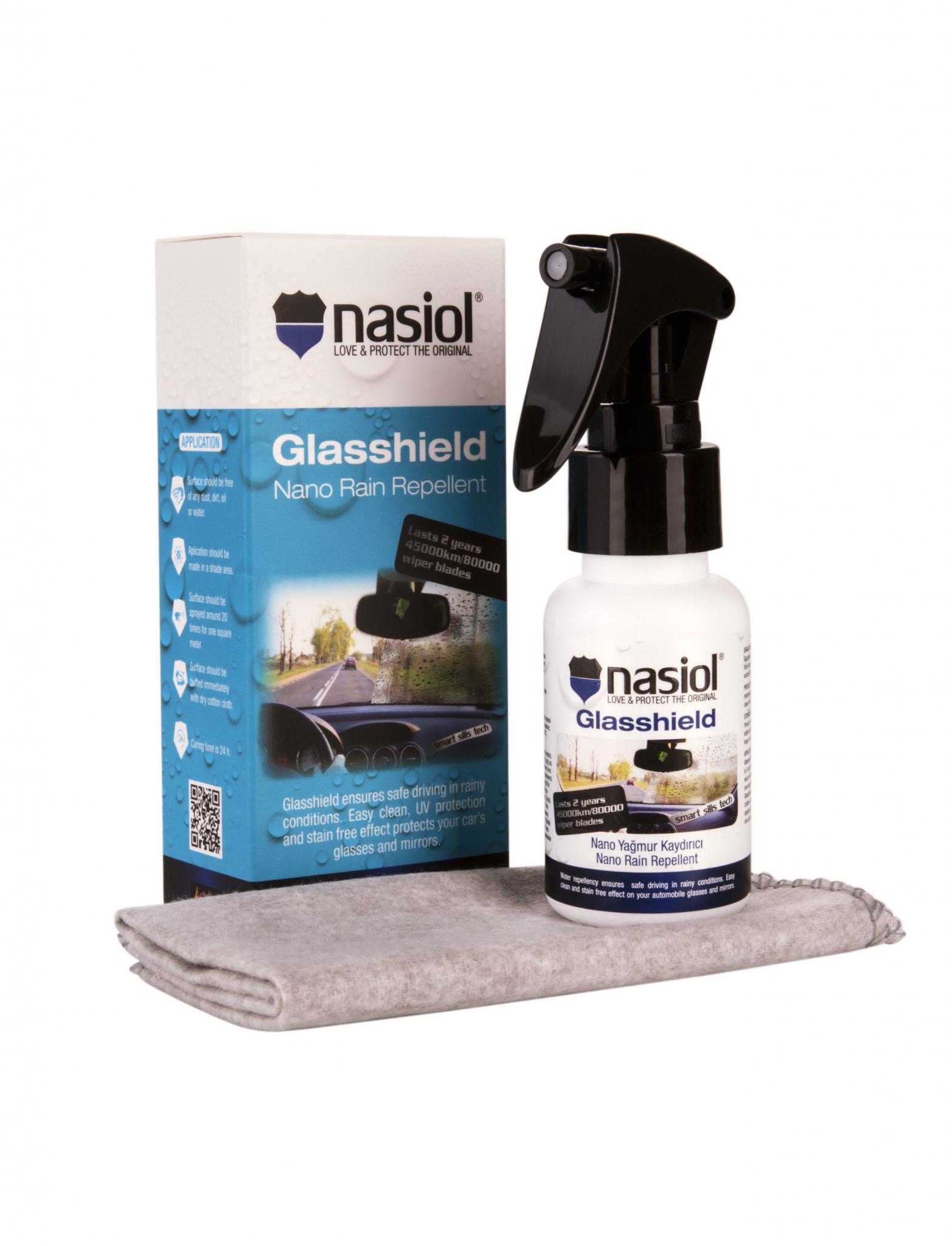 Sesonkitarjous! Tuulilasin Kestopinnoite Nasiol GlasShield -10%